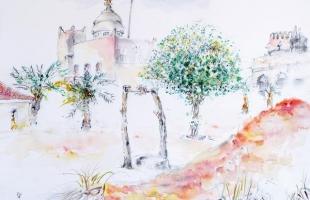dans-le-palais-barzan-abou-dhabi-2002-aquarelle-sur-papier-42-x-56-cm