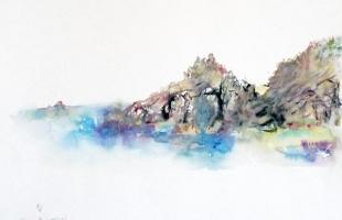 iles-des-sanguinaires-corse-2000-aquarelle-sur-papier-42-x-56-cm