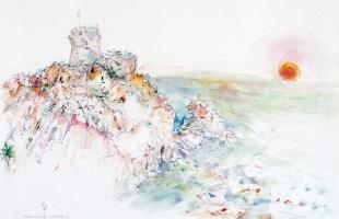 porto-corse-2001-aquarelle-sur-papier-42-x-56-cm