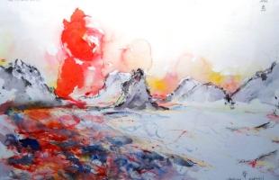 tsushima-japon-2011-aquarelle-sur-papier-42-x-56-cm
