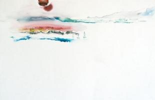 vue-de-cruciata-corse-1998-aquarelle-sur-papier-42-x-56-cm