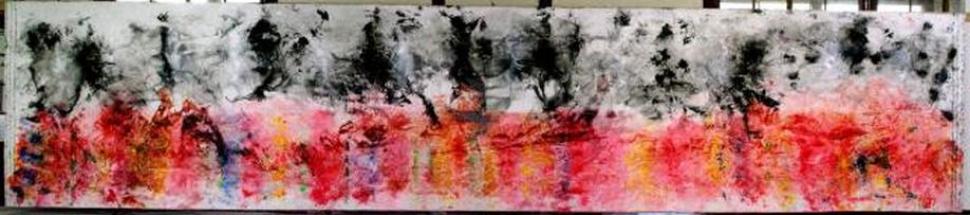 yamato-damashii-2012-oil-on-canvas-215-x-1000-cm