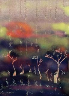 jardin-de-lumiere-18-2011-technique-mixte-sur-toile-41-x-33-cm
