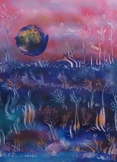 jardin-de-lumiere-16-2011-technique-mixte-sur-toile-41-x-33-cm