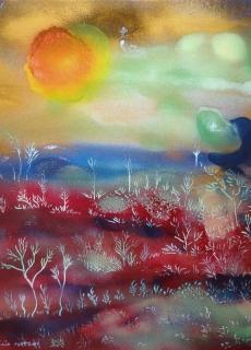 jardin-de-lumiere-11-2011-technique-mixte-sur-toile-41-x-33-cm