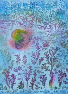 jardin-de-lumiere-2-2009-technique-mixte-sur-toile-41-x-33-cm