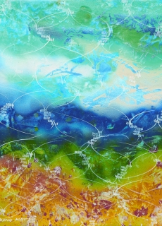 jardin-de-lumiere-7-2009-technique-mixte-sur-toile-41-x-33-cm
